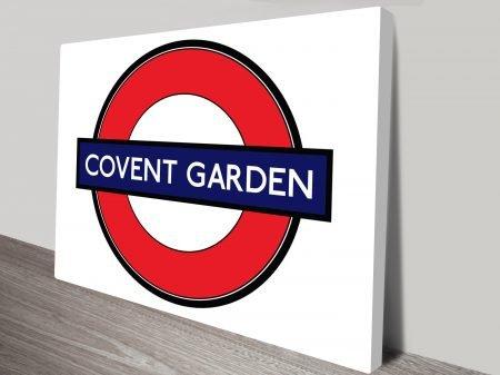 Covent Garden canvas print