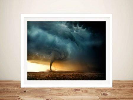 Tornado Framed Wall Art