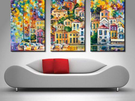 dream harbor triptych
