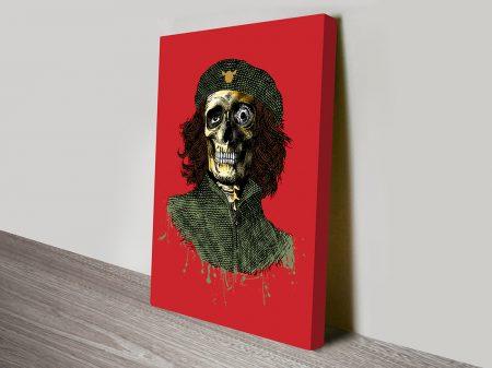 DFace Cliche BAJA canvas artwork