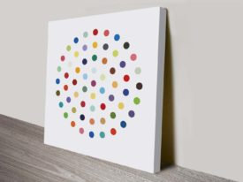 Damien Hirst Cineole canvas print