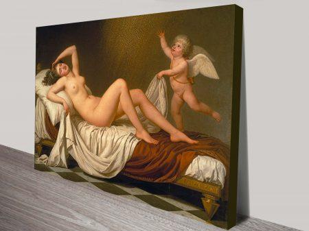 Dana By Adolf Ulrik Wertmuller Classical Art Print