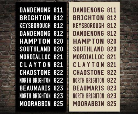 Dandenong Tram Roll & Bus Scroll Online