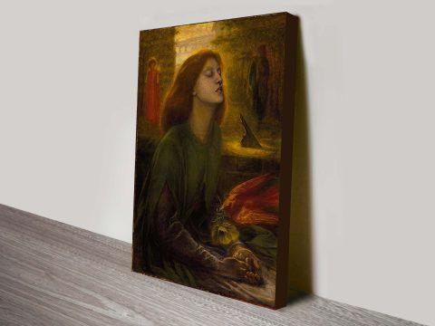 Beata Beatrix, Dante Gabriel Rossetti Classical Art Print
