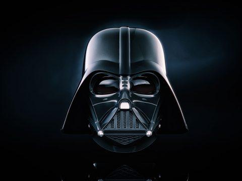 Darth Vader Helmet Canvas Print