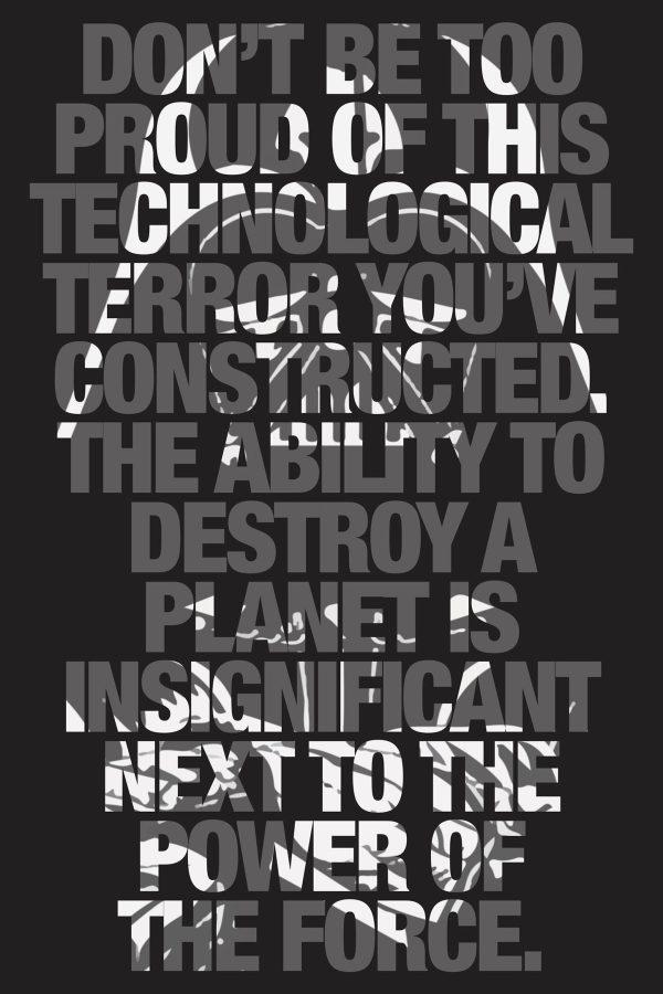 Darth Vader Quote Art Picture Perth