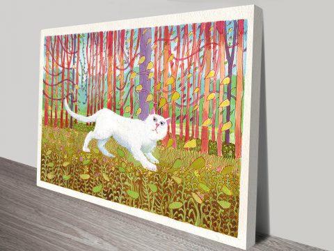 David Hockney Cat Percy Vintage Pop Art