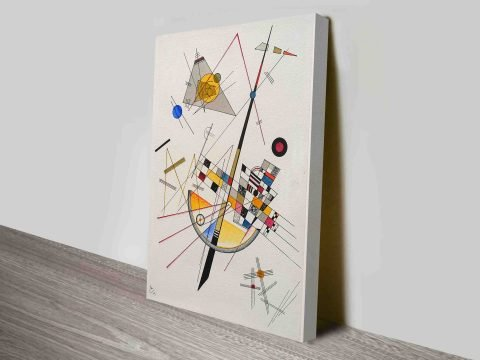Delicate Tension by Wassily Kandinsky Wall Art