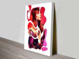 dominique in a dream cheap canvas print