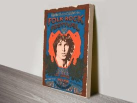 Doors Folk Rock Wall Art on Canvas