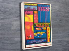 Doors at Santa Rosa Poster on Canvas