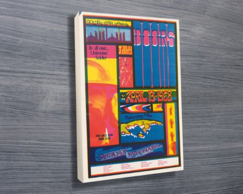 Doors at Santa Rosa Poster on Canvas