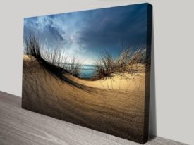 Dunes by the Oceans Canvas Work Art
