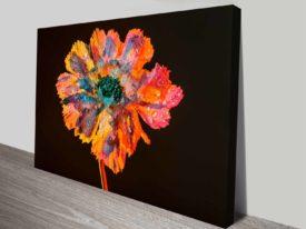 Psychedelic Floral Dew elena kulikova custom print