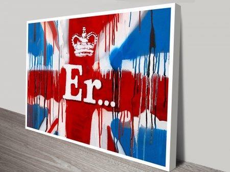 ER Banksy Australia Prints