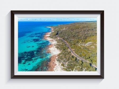 Eagle Bay Meelup Road Framed Art Prints