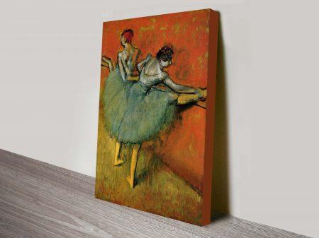Degas, Dancers At The Bar Classical Art Print