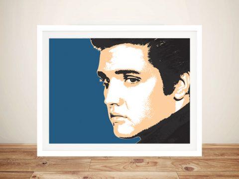 Elvis Against Blue