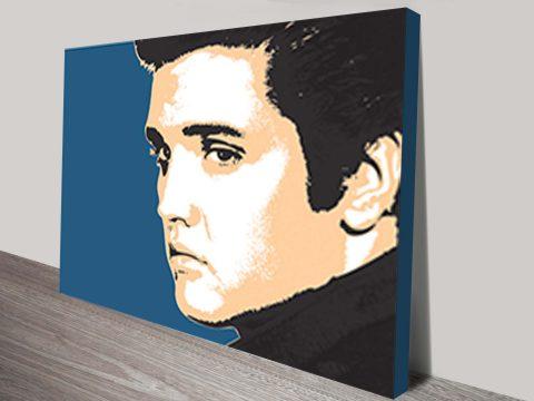Elvis Presley pop art