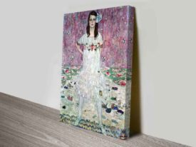 Portrait of Mada Primavesi by Gustv Klimt Austrian Symbolist Fine Art Print