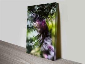 Evergreen Prints on Canvas