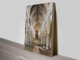 Exeter Cathedral Wall Print Art