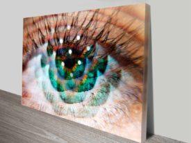 eye am green elena kulikova print cheap online