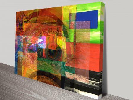 Eye See Conformity Sm Abstract Wall Art Print