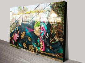 Buy Street Art Graffiti Canvas Prints