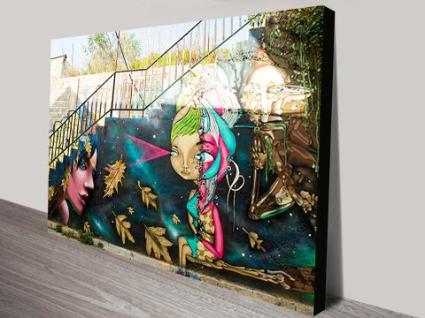 Buy Street Art Graffiti Canvas Prints