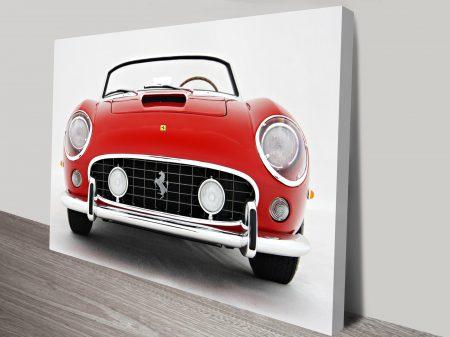 Ferrari 250 GT Spyder Car Art Brisbane