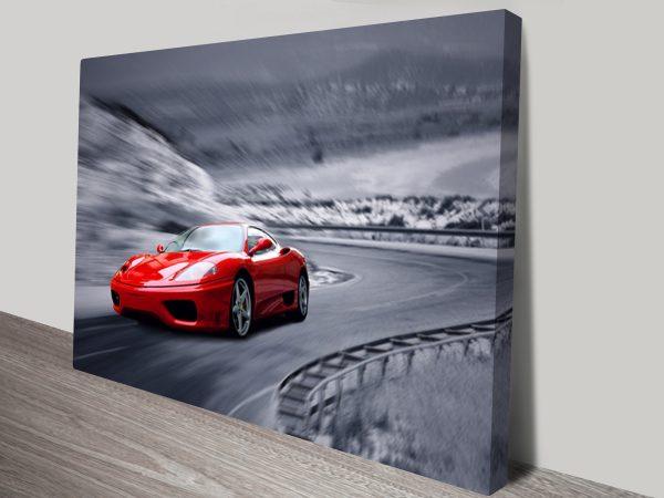 Ferrari F430 Canvas Print