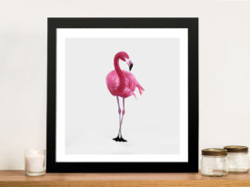 Vibrant Flamingo II Canvas Printers