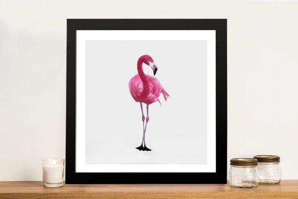 Vibrant Flamingo II Canvas Printers