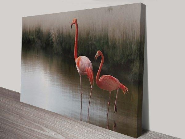 Flamingos Wall Art Australia