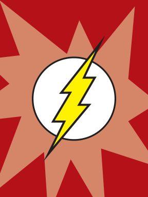 Flash Symbol Movie Art
