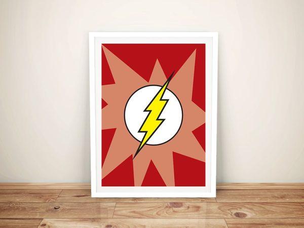 Framed Flash Symbol