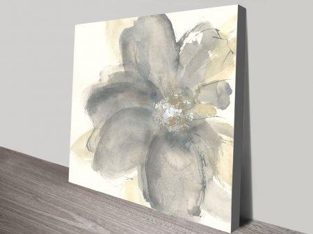 Floral Gray I