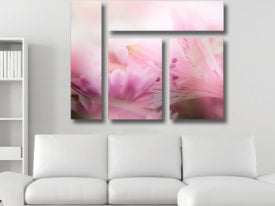 Blossoms Mixed 4 Panel Canvas Print