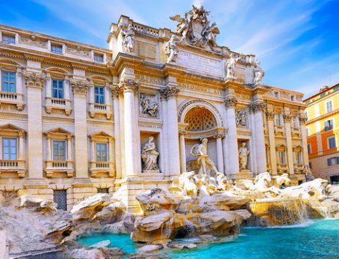 Fountain di Trevi photo print