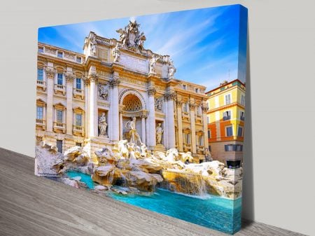 Fountain di Trevi Canvas Print