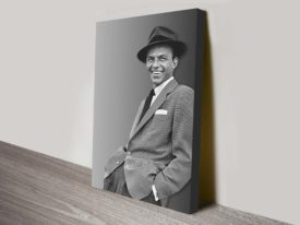 Buy Frank Sinatra canvas wall prints.