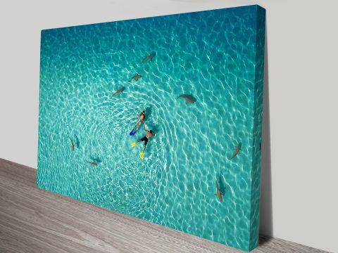 French Polynesia Paradise Wall Art Prints