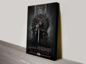 Game of Thrones Movie Poster Canvas Print