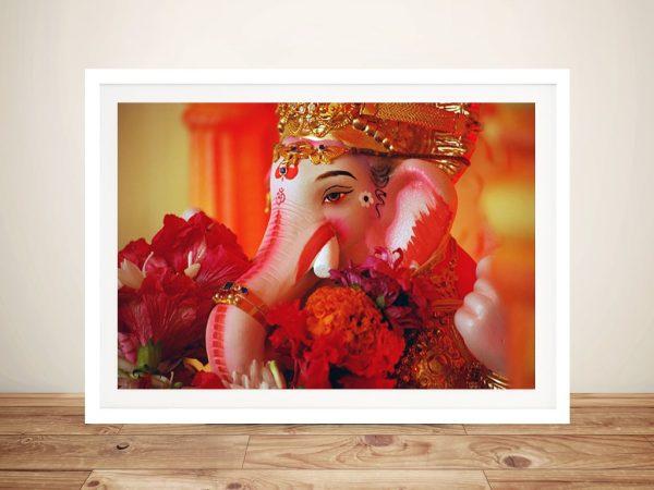 Buy a Ready to Hang Framed Print of Ganesh
