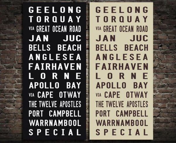 Geelong Tram Scroll & Tram Banners