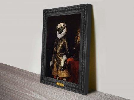 General Pug Markus Pilgrim Art