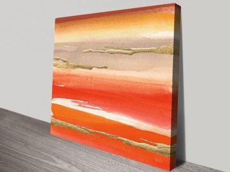 Buy Gilded Mandarin III Framed Abstract Art