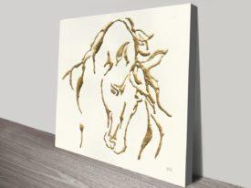 Gilded Stallion