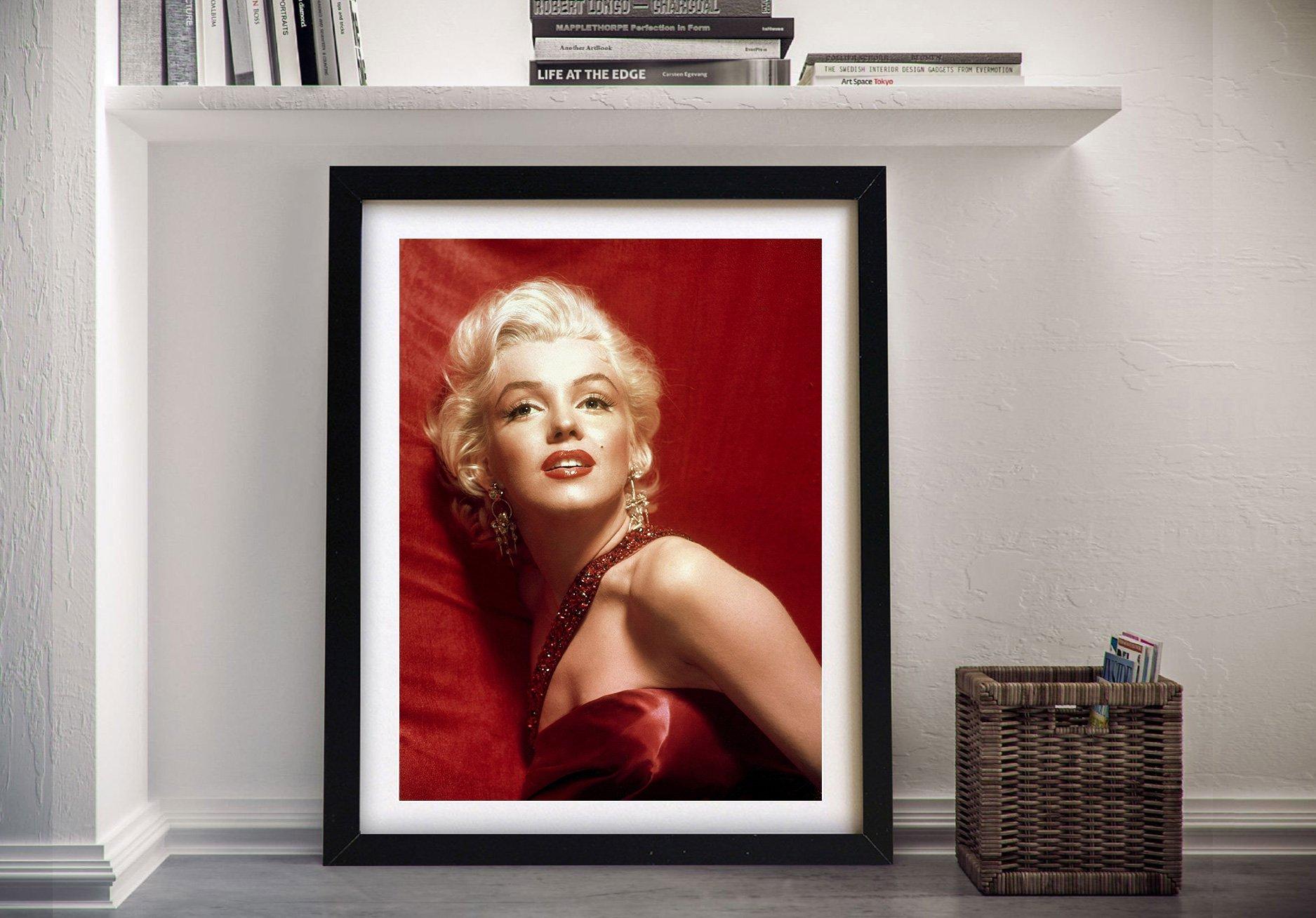 Marilyn Monroe Canvas Wall Art Print